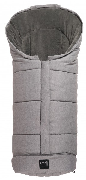 JOOY Microfleece melange light gray